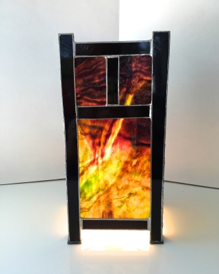 Stained Glass Lantern 16x20