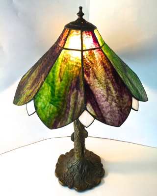 Stained Glass Swamp Lamp