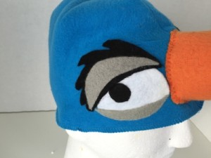 Zazu eye closeup